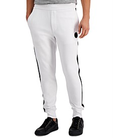 Men's Logo Fleece Track Pants, Created for Macy's