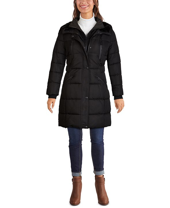 GUESS Hooded Puffer Coat