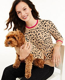 Leopard-Print Sweater, Created for Macy's
