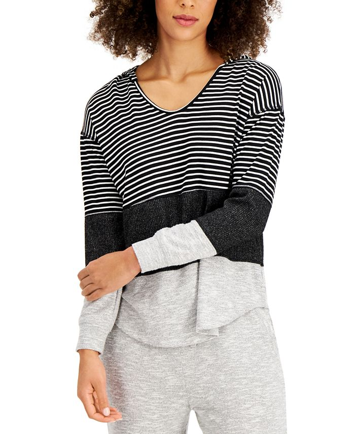 Style & Co - Colorblocked Hoodie