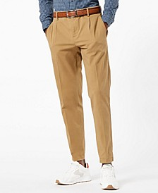 Men's Tapered Pleated Heritage Pants