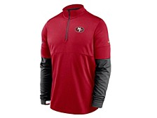 San Francisco 49ers Men's Sideline Half-Zip Therma Top