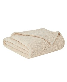 "Marshmallow Sherpa Throw, 60"" x 50"""