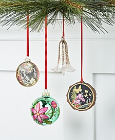 Bugs & Botanical Ornaments Collection, Created for Macy's