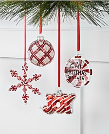 Peppermint Twist Ornament Collection, Created for Macy's