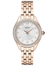 Women's Rose Gold-Tone Stainless Steel Bracelet Watch 29mm