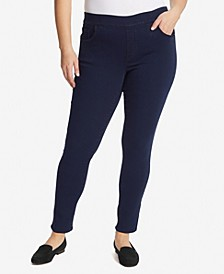 Women's Plus Size Avery Pull on Slim Short Pant