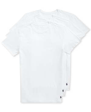 Polo Ralph Lauren Men's 3-Pk. Slim-Fit Stretch Undershirts