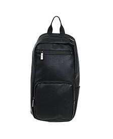 Vegan Leather Sling Backpack