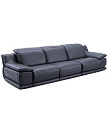 Daisley 3-Pc. Leather Sofa with 2 Power Recliners