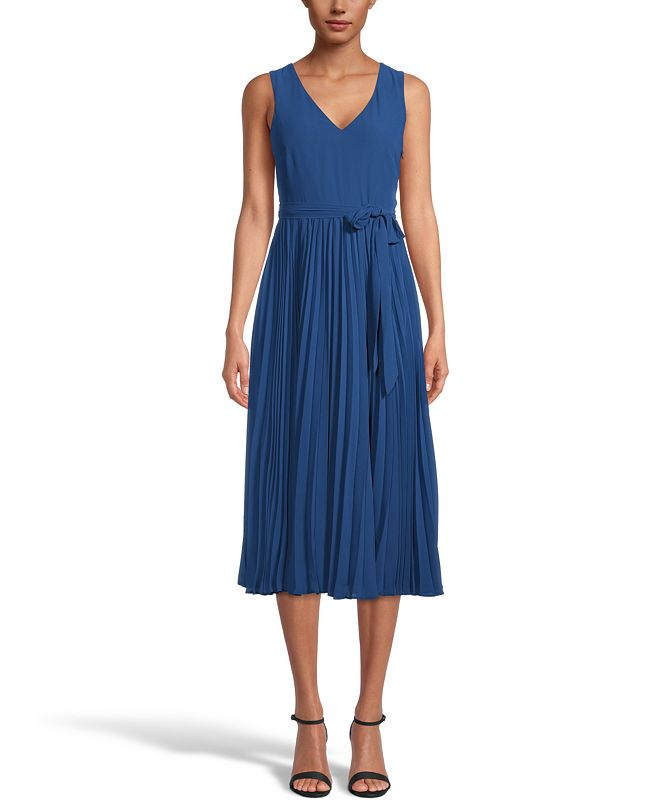 INC International Concepts INC Pleated A-Line Midi, Created for Macy's
