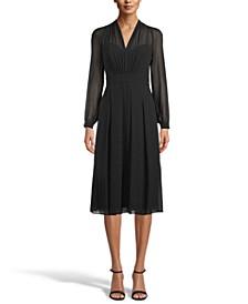 Illusion Midi Dress