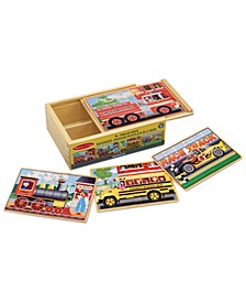 Kids Toy, Vehicle Puzzles in a Box