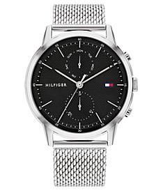 Men's Stainless Steel Mesh Bracelet Watch 44mm