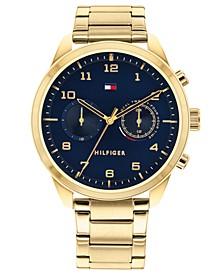 Men's Gold-Tone Bracelet Watch 44mm