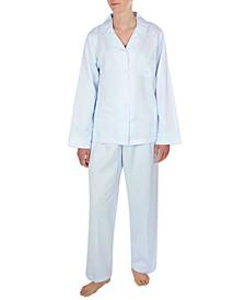 Satin Dobby Pajama Set