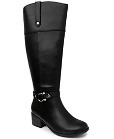 Vickyy Wide Calf Riding Boots, Created for Macy's