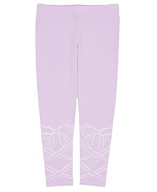 Little Girls Ballet Lace Mix and Match Knit Legging