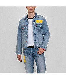 Men's Vintage-Like Fit Lego Trucker Jacket