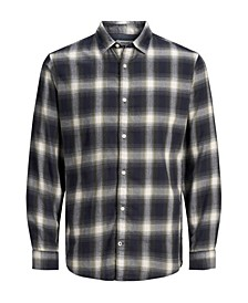 Men's Long Sleeve Button-Down Shirt