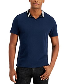 Men's Nate Track Knit Polo