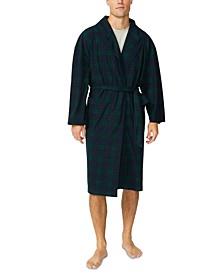 Men's Plush Knit Robe