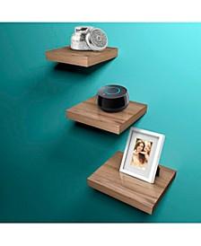 Wood 3-Pc. Tile Shelf's
