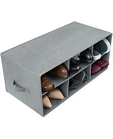 6-Pair Shoe Bin