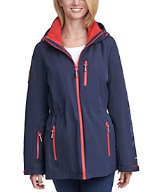 Zipper-Pocket Anorak Jacket
