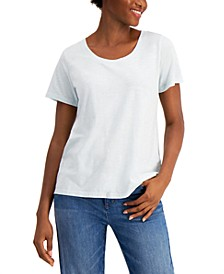 Scoop-Neck Organic Cotton T-Shirt
