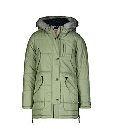 Big Girls Heavyweight Fashion Parka Jacket
