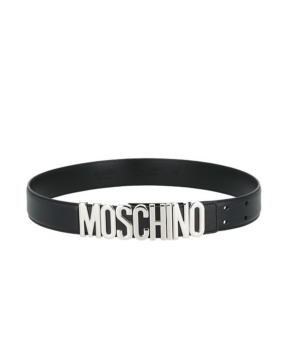 Moschino Women's Logo Thick Belt (39% Off) -- Comparable Value $295