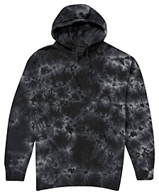 Men's Shadow Tie Dye Hooded Fleece Sweatshirt