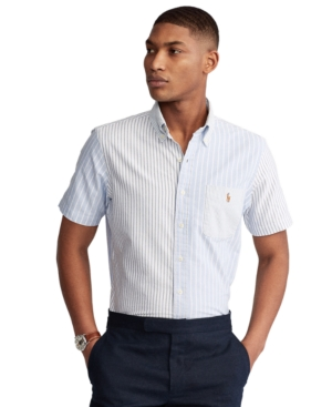 Polo Ralph Lauren Men's Big & Tall Classic-Fit Striped Fun Shirt