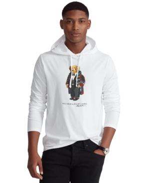 Polo Ralph Lauren Men's Holiday Bear Hooded T-Shirt