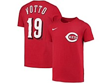 Cincinnati Reds Youth Name and Number Player T-Shirt Joey Votto
