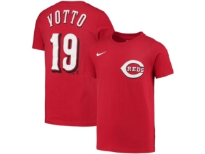 Nike Cincinnati Reds Youth Name and Number Player T-Shirt Joey Votto