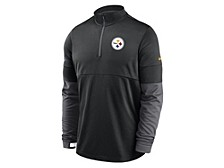 Pittsburgh Steelers Men's Sideline Half Zip Therma Top