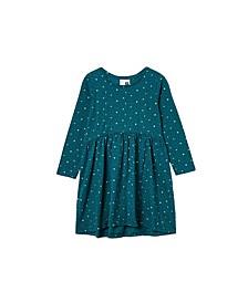 Little Girls Freya Long Sleeve Dress
