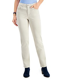 Natural Straight-Leg Jeans, Created For Macy's