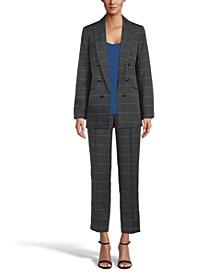 Plaid Blazer, Top & Pants, Created for Macy's