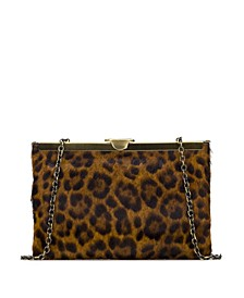 Leopard Asher Clutch