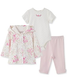 Little  Me Baby Girl Blossom 3 Piece Take Me Home Set