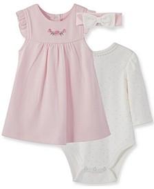 Little  Me Baby Girl Rose Jumper Set