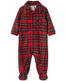 Little  Me Baby Boy Boy  Plaid Footie