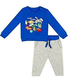 Earth Organic Baby Boy 2-Piece Will Pant Set