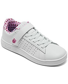 Little Girls Court Casper Casual Sneakers from Finish Line