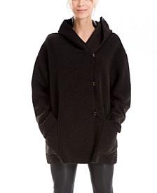 Women's Cozy Fleece Hooded Coat (59% Off) -- Comparable Value $98