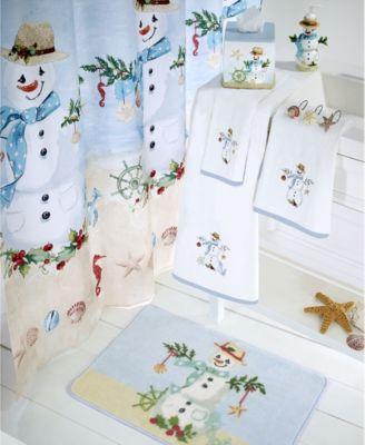 Coastal Snowman Tissue Cover