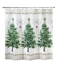 "Trees 72"" x 72"" Shower Curtain"